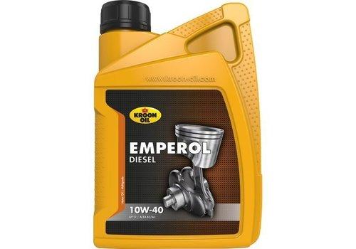 Kroon 10W40 motorolie Emperol diesel, 1 liter
