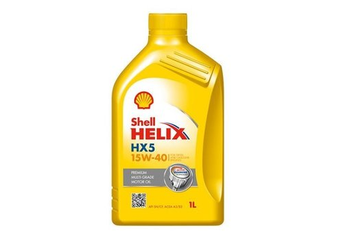 Shell Motorolie HELIX HX5 15W40, 1 ltr