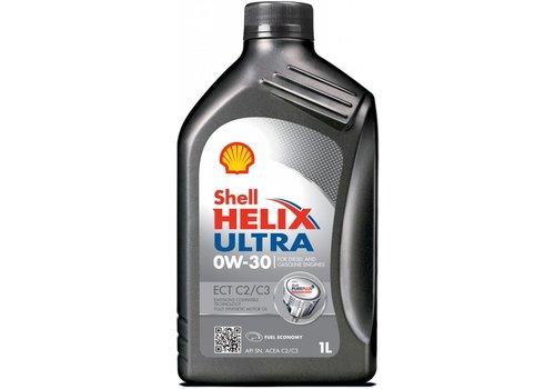 Shell Helix Ultra 0W-30 ECT C2/C3 - Motorolie, 1 lt