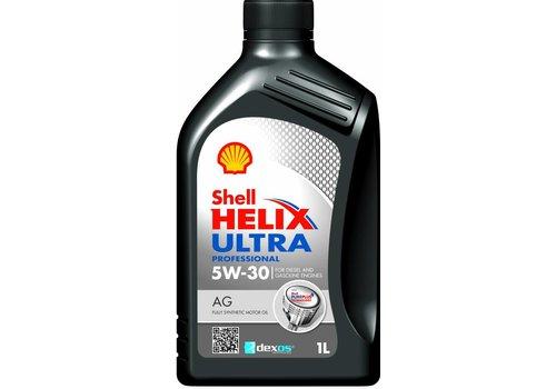 Shell Helix Ultra Pro 5W-30 AG - Motorolie, 12 x 1 lt