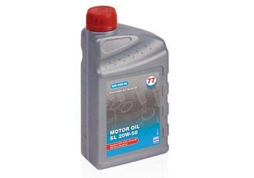 77 Lubricants Motorolie SL 20W50, 1 ltr