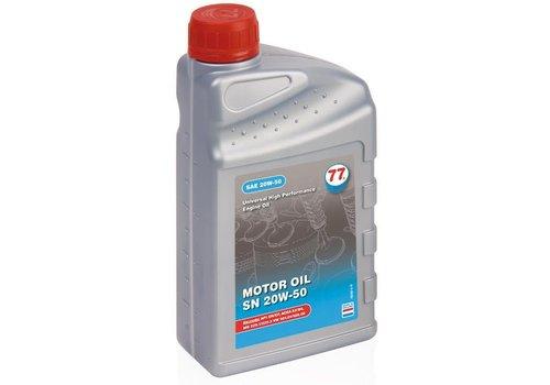 77 Lubricants Motorolie 20W50 SN, 1 ltr