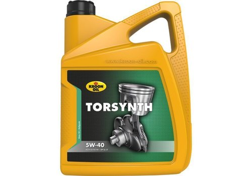Kroon Motorolie Torsynth 5W40, 5 ltr