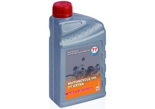 77 Lubricants Motorfiets olie 2T Extra, 1 ltr