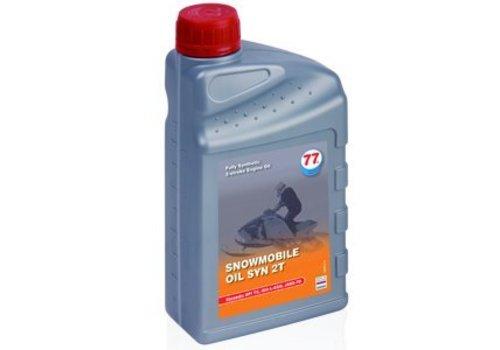 77 Lubricants Sneeuwscooter olie SYN 2T, 4 lt