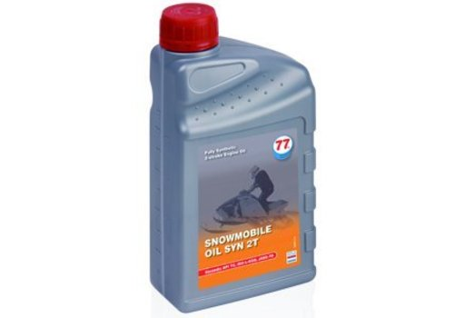 77 Lubricants Sneeuwscooter olie SYN 2T, 4 ltr
