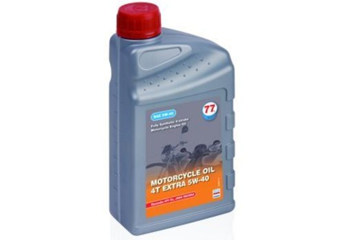 77 Lubricants Motorfiets olie 4T Extra 5W-40, 4 ltr