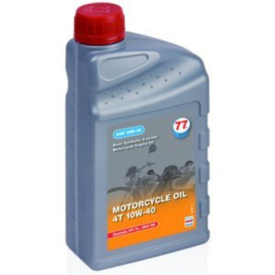 Motorfiets olie 4T 10W-40, 4 ltr
