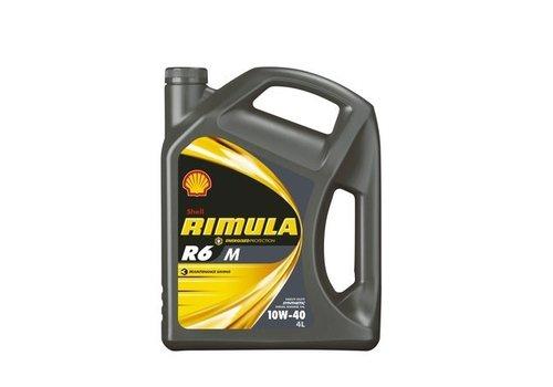 Shell Rimula R6 M 10W-40 - Heavy Duty Engine Oil, 5 lt