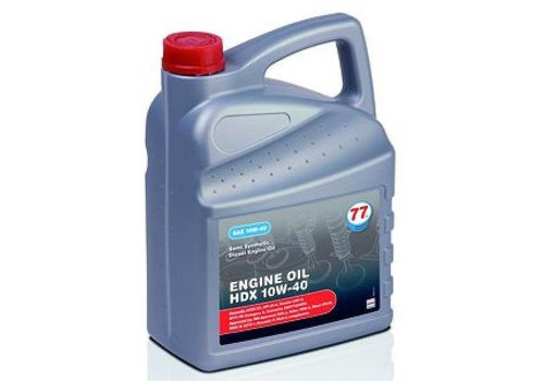 77 Lubricants Engine Oil HDX 10W-40, 5 lt