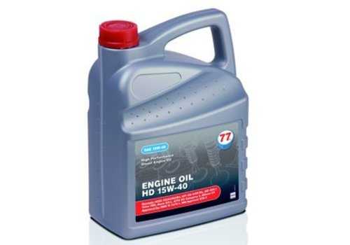 77 Lubricants 15W-40 Engine olie HD, 1 liter