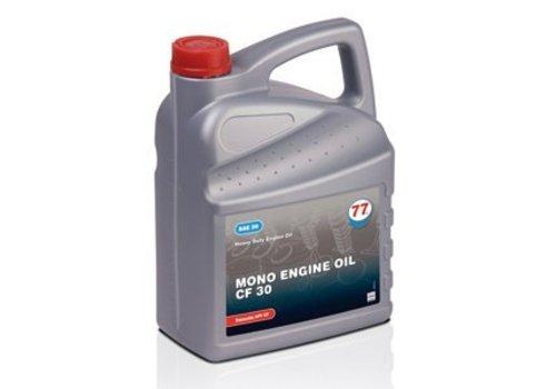 77 Lubricants MONO Engine olie CF 30, 5 liter