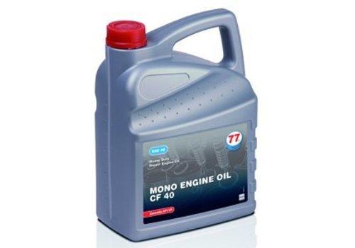 77 Lubricants MONO Engine olie CF 40, 3x5 liter