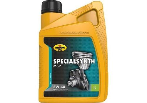 Kroon Specialsynth MSP 5W-40 - Motorolie, 1 lt