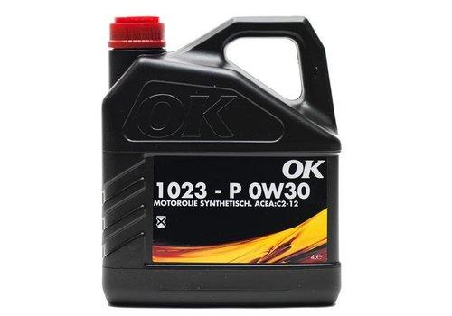 OK Olie 0W-30 motorolie 1023-P-SAE 0W30, flacon 4 liter