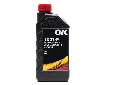 OK Olie 5W-30 motorolie 1022-P- SAE 5W30, flacon 1 liter