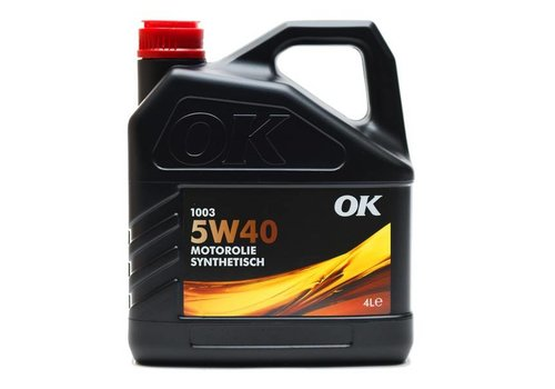 OK Olie 1003 5W-40 - Motorolie, 4 lt
