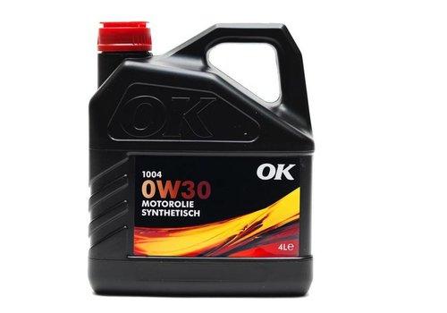 OK Olie 0W-30 motorolie 1004-0W30, 4 liter