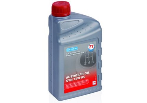 77 Lubricants Versnellingsbakolie 75W-85 SYN, 1 liter