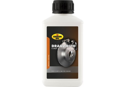 Kroon Drauliquid S DOT 4 - Remvloeistof, 250 ml