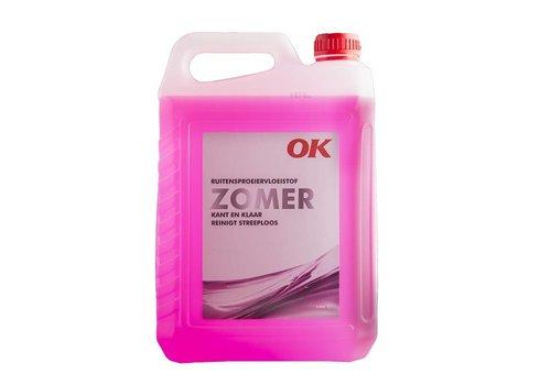 OK Olie Ruitensproeiervloeistof Zomer, flacon 5 ltr