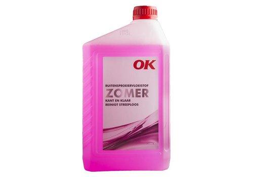 OK Olie Ruitensproeiervloeistof Zomer, flacon 2 ltr