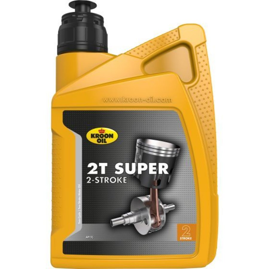2T Super 2-takt - Motorfietsolie, 1 lt