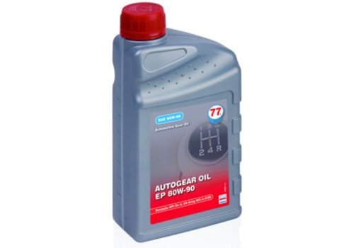77 Lubricants Versnellingsbakolie EP 80W-90, 1 lt