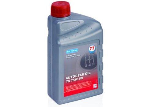 77 Lubricants Versnellingsbakolie TX 75W-80, 1 liter