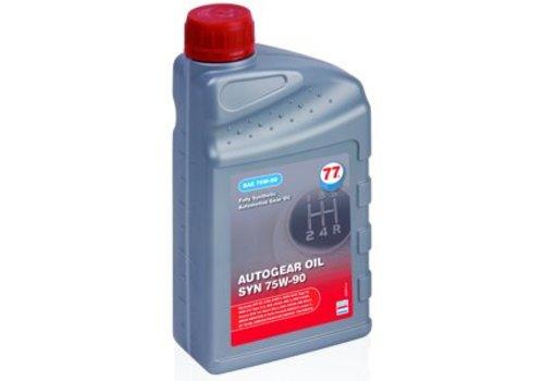 77 Lubricants Versnellingsbakolie SYN 75W-90, 5 liter
