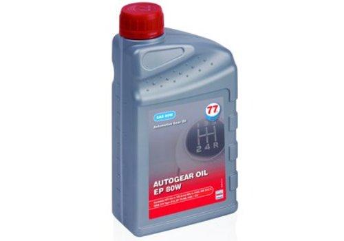 77 Lubricants Versnellingsbakolie EP 80W, 1 liter