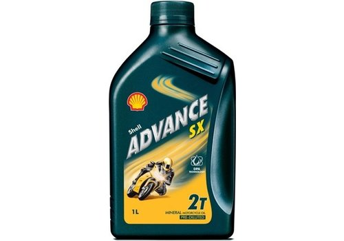 Shell Advance SX - Motorfietsolie , 1 lt