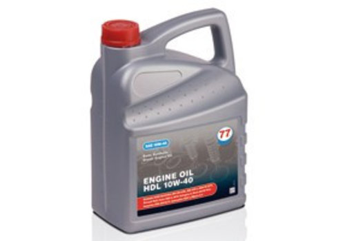 77 Lubricants 10W-40 Engine olie HDL - 5 ltr