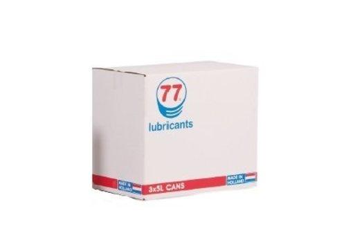 77 Lubricants Melkmachine Olie 68, 3 x 5 lt