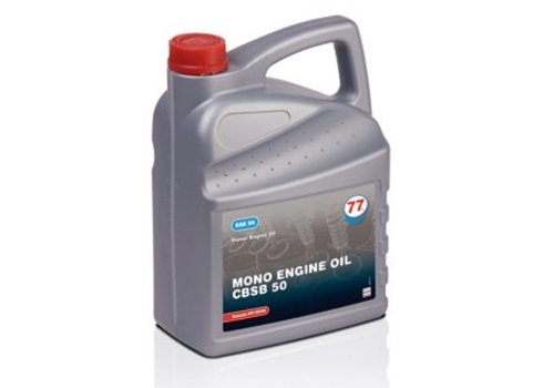 77 Lubricants MONO Engine Oil CBSB 50, 5 lt
