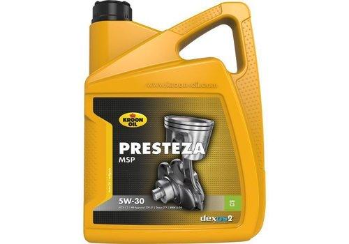 Kroon Presteza MSP 5W-30 - Motorolie, 5 lt