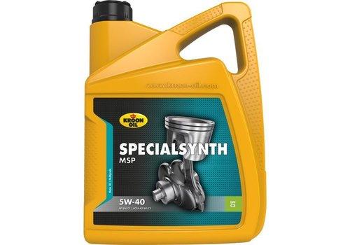 Kroon Specialsynth MSP 5W-40 - Motorolie, 5 lt