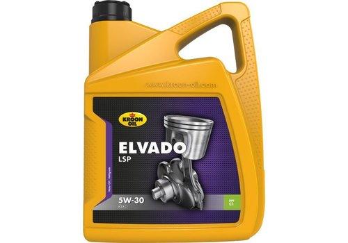 Kroon Elvado LSP 5W-30 - Motorolie, 5 lt