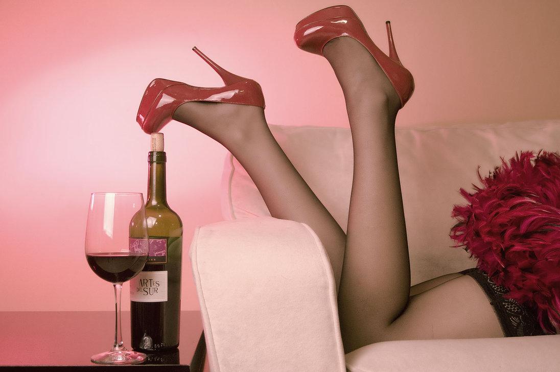 rode wijn valentijn