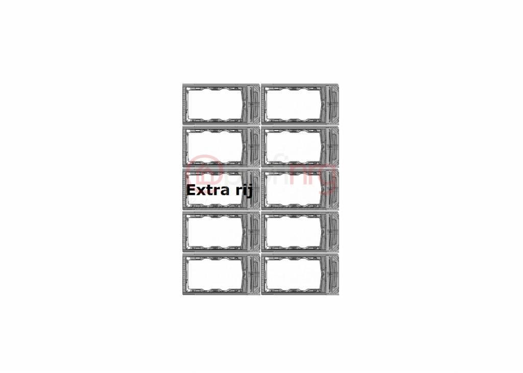 IRFTS Easyroof Landscape 1 rij van 5 panelen