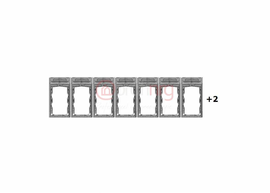 IRFTS IRFTS Easyroof Portrait SolarFrontier 1 horizontale rij van 9 panelen
