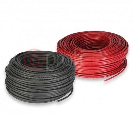 Solarkabel 4mm2 (rood of zwart per 100m)