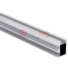 Montage aluminium rail 6,20m. per krat