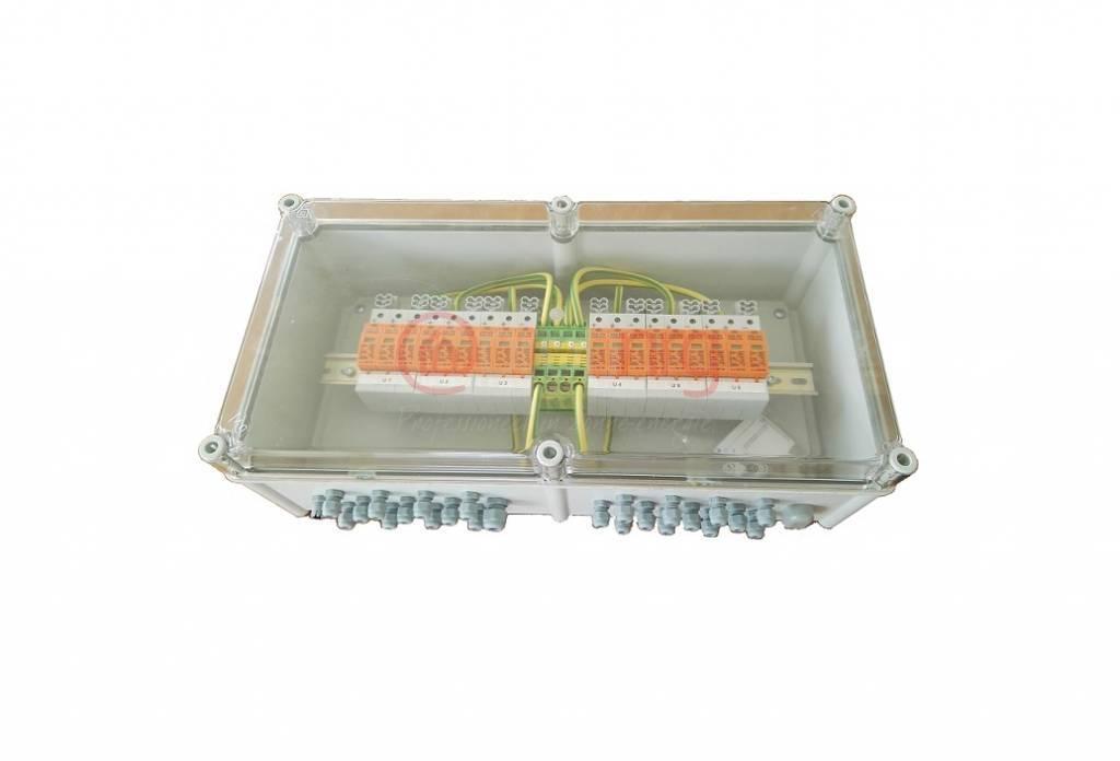OBO PV-stringbox met OSB - 8 DC strings