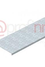 Deksel, ongeperforeerd voor kabelgoot en kabelladder 100x3000