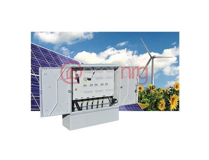 Verdeelkasten Geyer Onderverdeelinrichting 250A - incl. 9 groepen & kWh-meter