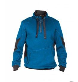 Dassy Zweifarbiges Sweatshirt Stellar Blau - Grau