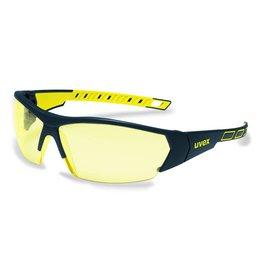 UVEX UVEX Schutzbrille i-works anthrazit / gelb