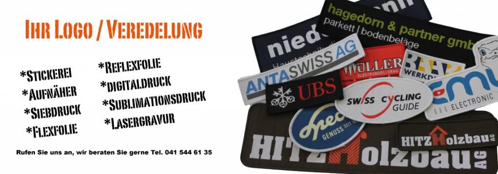 Veredlung / Ihr Logo
