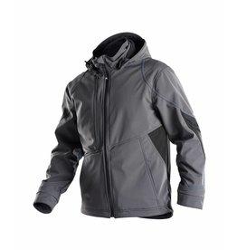 Dassy Softshell-Jacke Zweifarbig - Gravity - Grau-Schwarz